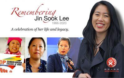 IN MEMORIAM: Jin Sook Lee, 7. maj 1966. – 7. april 2020.